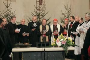 Novoročná ekumenická bohoslužba v katedrále sv. Vavrinca v Prahe na Petříne, 2013