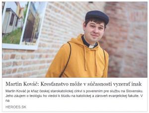 Meet the Heroes - rozhovor s Martinom Kováčom