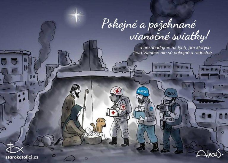 Vianočné prianie - Starokatolíci v Bratislave