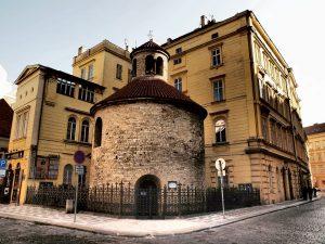 Starokatolícka rotunda Nájdenia sv. Kríža v Prahe