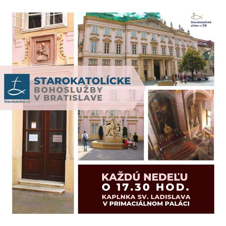 Starokatolícke bohoslužby v Kaplnke sv. Ladislava v Primaciálnom paláci v Bratislave