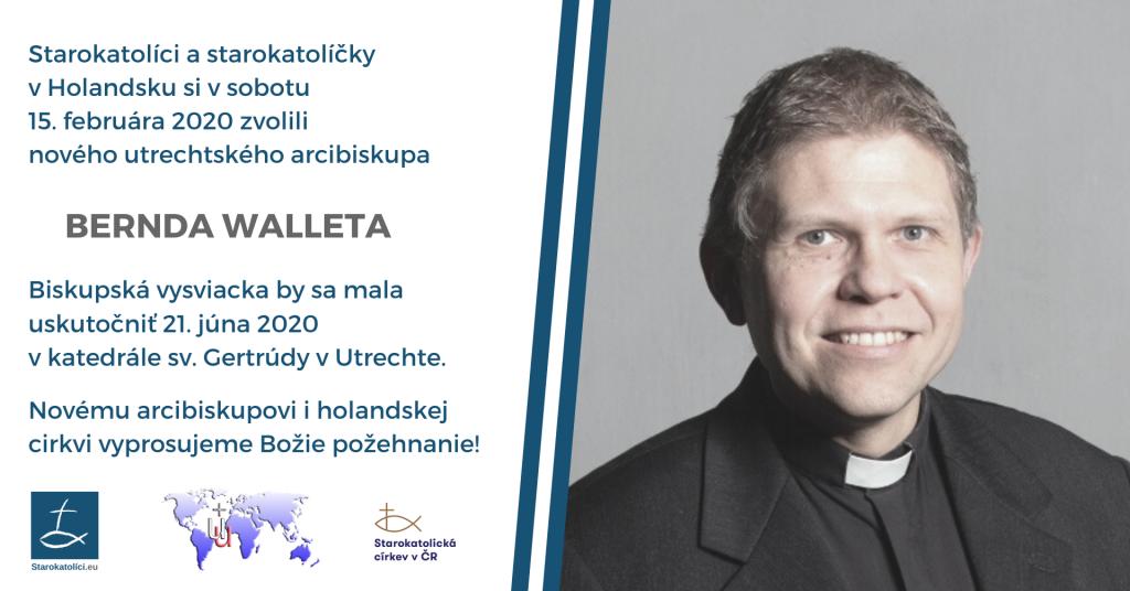 Bernd Wallet, nový utrechtský arcibiskup